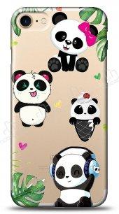 iPhone 7 Happy Panda Kılıf