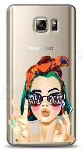Samsung Galaxy Note 5 Color Girl Boss Kılıf