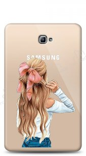 Samsung T580 Galaxy Tab A 10.1 2016 Pretty Girl Kılıf
