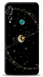 Huawei Y9 Prime 2019 / P Smart Z Ay Yıldız Gökyüzü Taşlı Kılıf