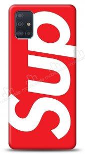 Samsung Galaxy A71 Supreme Kırmızı Kılıf