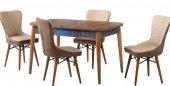 Bengi Alt906 İndigo Masa Sandalye Takımı