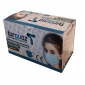 50 Adet Lastikli Burun Telli 3 Katlı Cerrahi Medikal Maske