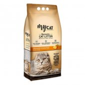 MyCat Portakal Kokulu Kedi Kumu İNCE Taneli 10 LT