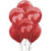 Metalik Bordo Balon 100lü