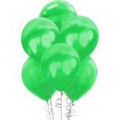 Metalik Yeşil Balon 100lü