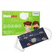 Steraplus Yıkanabilir 3 Katmanlı Çocuk Maskesi...