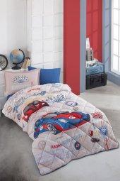 Clasy Tek Kişilik Uyku Seti Garage Mavi