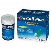On Call Plus Ölçüm Çubuğu Strip 50 Adet, Skt 03...