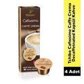 Tchibo Cafissimo Caffe Crema Decaffeinated Kahve 4 X 10 Kapsül
