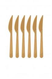 Roll Up Plastik Bıçak Gold 25 Li