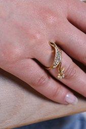 Kadın Kuğu Altın Yüzük Altın 0313