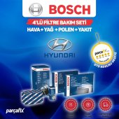 Hyundai İ30 1.6 CRDI Bosch 4lü Filtre Bakım Seti 2008-2012