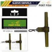 Portfish 2322-8 Sleeve Swivels