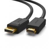 Ugreen 4K Displayport HDMI Dönüştürücü Kablo  3 Metre