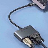Ugreen Type-C HDMI VGA Dönüştürücü Adaptör-3