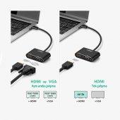 Ugreen Type-C HDMI VGA Dönüştürücü Adaptör-4