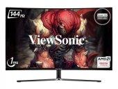 ViewSonic 32 VX3258-2KPC-MHD 2K 2560x1440 144Hz 1ms (HDMI+DP) FREESYNC CURVED GAMING MONİTÖR