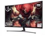 ViewSonic 32 VX3258-2KPC-MHD 2K 2560x1440 144Hz 1ms (HDMI+DP) FREESYNC CURVED GAMING MONİTÖR-2