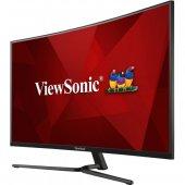 ViewSonic 32 VX3258-2KPC-MHD 2K 2560x1440 144Hz 1ms (HDMI+DP) FREESYNC CURVED GAMING MONİTÖR-4