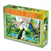 250 Parça Tavus Kuşu Puzzle