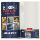 Eclectia Isobond Likit Glass Sıvı Cam Şeffaf Su Yalıtımı 4 Kg