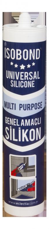 Eclectia Isobond Genel Amaçlı Silikon, 280 Gram - Beyaz