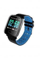 Mobitell A6 Smart Watch Mavi Akıllı Saat Suya Dayanıklı