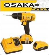 Osaka 32 Volt 5.0 Amper Darbeli Çift Akülü Şarjlı Vidalama Matkap O32v50asd