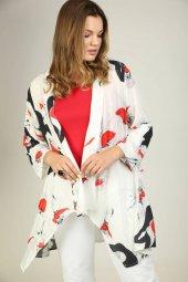 Sürmeli Triko Ghada Bayan Çiçek Desenli Bluz Takım 17145