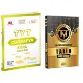 345 Yayınları Tyt Coğrafya + Robert Tyt Tarih...