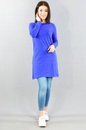Kadın Tunik Sak Mavi 11bk250001