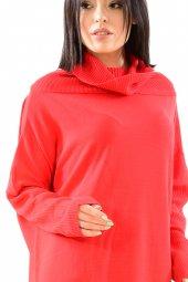 Kadın Tunik Kırmızı Triko