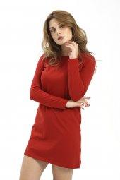 Kadın Tunik Kırmızı Penye