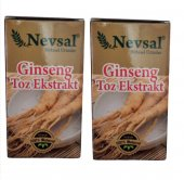 Nevsal Ginseng Toz Ekstratı Saf 15 Gr 2 Adet
