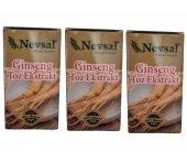 Nevsal Ginseng Toz Ekstratı Saf Kargo 15 Gr 3 Adet
