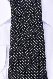 Erkek Kravat Siyah Çizgili