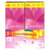 Carefree Normal Cotton 1+1 Günlük Ped