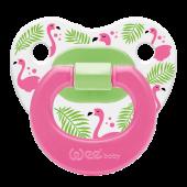 Wee Baby Desenli Damaklı Emzik No 1 Flamingo