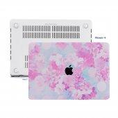Mcstorey Macbook Pro 13 İnç Touchbar Kılıf Hardcase A1706 A1708 A1989 A2159 Flower 02