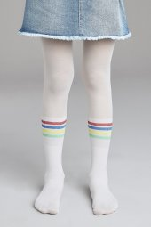 Penti Pretty Rainbow Stripe Külotlu Çorap Pcdp654g20ıy