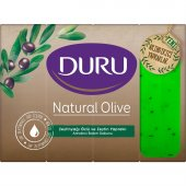 Duru Natural Olive Zeytin Yapraklı  Kalıp Sabun 640 gr