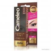 Delia Cameleo Eyebrow Tint Cream Krem Kaş Boyası 4.0 Brown