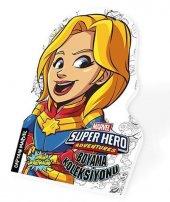 Marvel Süper Hero Boyama Koleksiyonu Captain Marvel