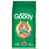 Goody Gourmet Gurme Renkli Taneli Yetişkin Kedi...