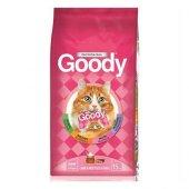 Goody Kuzu Etli Pirinçli Yetişkin Kedi Maması...