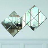 Chic Life Dekoratif 8 Parçalı 20x20 Cm Ayna