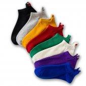 Nuh Home Emoji Çoraplar 8'lı Gökkuşağı Paketi...