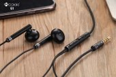 Oppo Reno 3 Hd Süper Bas Mikrofonlu 3.5mm Kulak İçi Kulaklık G1