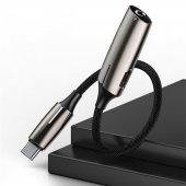 LG V30 Plus Şarj Kulaklık Çoklayıcı Hızlı Şarj 18 Watt Type C to PD+3.5mm-2